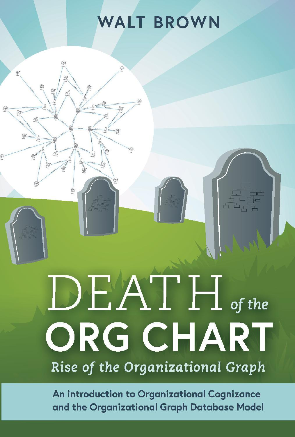 Death of the org chart is a book about organizational structure and design for the 21st century